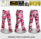 Women Motorbike Camouflage Pants With Protective Lining And CE Approved Armour