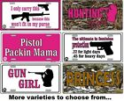 Country Girl License Plate Funny Metal Wall Decor Bar Sign wife mom Gift SB#LP