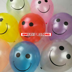 "10 - 50 Face 12"" Spotty LATEX smile BALOONS Birthday Party Decoration Supplies"
