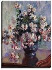 Canvas Print, Claude Monet, Chrysanthemums, 1880-81