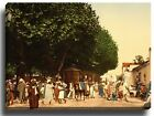 Canvas Print Wall Art Picture arab market blidah algeria