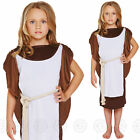 GIRLS VIKING FANCY DRESS COSTUME WARRIOR SAXON HISTORICAL KIDS OUTFIT NEW CHILDS
