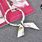 22 COLORS WOMEN 100% SILK LONG MAGNET SCARF WRAP NECKERCHIEF COLLAR BRECELET