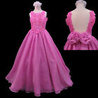 New Little Teens Girl Pageant Wedding Formal Party Long D...