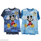 Boys MICKEY MOUSE 2pc Shorts & Top Set Sizes / Ages 4 6 7