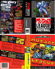 '- Mutant League Football Mega Drive Replacement Box Art Case Insert Only