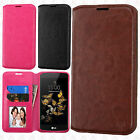 For ZTE DUO MAX 4G LTE Premium Wallet Case Pouch Flap STAND Cover Accessory