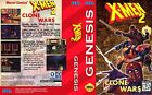 X-Man 2 Clone Mega Drive Genesis NTSC PAL Replacement Box Art Case Insert Cover