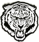 Embroidered White Tiger Large Back PATCH