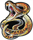 Embroidered Rattle Snake Large Back PATCH