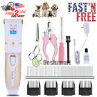 Professional Mute Pet Cat Dog Fur Hair Cordless Clipper /Trimmer /Shaver /Oil Kit