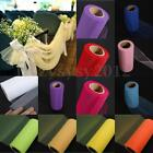 6'' 25 Yards Tutu Tulle Roll Spool Wedding Decoration Party Gift Wrap Bow Craft