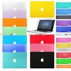 Keyboard Cover+Screen Protector+Hard Shell Case for Apple Macbook Laptop Skin