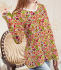 Mushrooms Poppies Paisley Women Lady V Neck Long Sleeve T-shirt b108 acq02626