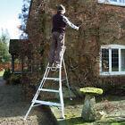 Henchman 3 leg professional adjustable tripod ladder