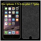 Diamond Glitter Shiny Tempered Glass Screen Protector Film For iPhone 5 5S 6S 7
