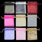 Jewellery Organza Very Colours Pouches Bags Small Gift Sweets Wedding Pack of 40