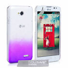 Yousave Accessories Protective Hard Back Raindrop Phone Case Cover For LG L70