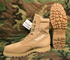 US Military THOROGOOD Coolmax Tan Steel Toe Combat Boots Boys Mens Sz 4-15 NIB