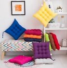 UK COLOURFUL SEAT PAD DINING ROOM GARDEN KITCHEN HOME OFFICE CHAIR CUSHIONS