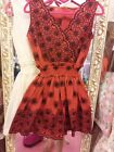 **US SELLER**EMBROIDERY GYARU ONE PIECE LILY BROWN LIZ LISA DRESS SHIBUYA JAPAN