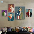 Modern Abstract Superhero Batman Movie Poster Kid Room Decor