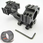 """New Tri-Rail Cantilever 20mm Rail Mount Dual 30mm&1""""25mm Ring For Scope/Rifl 79"""