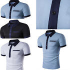 Newest Fashion summer Men's Casual cotton short sleeve T-shirts for Man
