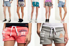 New Womens Superdry Shorts Selection; Various Styles & Colours