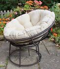 NEW All Weather Outdoor Papasan Chair - Conservatory Garden Furniture for sale  United Kingdom