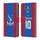 CRYSTAL PALACE FC 2016/17 PLAYERS HOME KIT COVER A PORTAFOGLIO PER LG TELEFONI 1