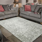 Flair Rugs Mayfair Dorchester Wool Hand Carved Rug, Grey