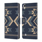 HEAD CASE DESIGNS NEO NAVAJO LEATHER BOOK WALLET CASE FOR LG X POWER