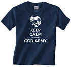 Children, Kids, youth, boys t-shirt Fleetwood Town-Keep calm we are the Cod Army