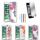 Ultra Thin Soft TPU Back Case Gel Cover + Mirror Film + Pen For iPhone 7 / Plus