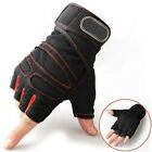 Weight lifting Gym Gloves Training Fitness Wrist Wrap Workout Exercise Sports&