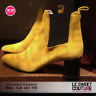 ZARA WOMAN NEW COLLECTION AW16 STRETCH LEATHER ANKLE BOOTS 2114/201/124