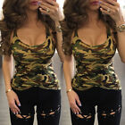 Womens Summer Loose Casual Cotton Sleeveless Vest Shirt Tops Blouse Ladies Tops