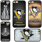 NHL Pittsburgh Penguins Plastic Hard Phone Case Cover Fits For iPhone Samsung