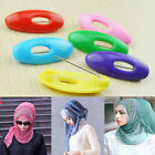 6pcs High Quality Plastic Hijab Muslim Islamic Scarf Pin Safety Pin Clips Set UK