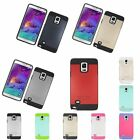 Shockproof Hard Hybrid Silicone Cover Case For Samsung Galaxy Note 4 N9100