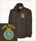 HMS ACTIVE TYPE 21 Class Crested Embroidered Fleeces