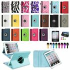 360 Leather Flip Case Cover+Matte Guard For iPad Mini 1 2 3 Retina Display