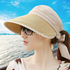 Chic Summer sun hat straw Hat visor golf beach cap for Women Girl