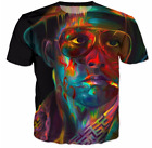 New Fashion Womens/Mens Fear And Loathing In Las Vegas Funny 3D Print T-Shirt