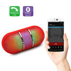 Bluetooth Stereo Speaker Portable Wireless Rainbow Led Light Show For Cell Phone