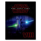 Star Wars Episode VIII The Last Jedi Movie Art Silk Poster 13''x20'' 20''x30'' $4.89 USD