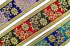 "Jacquard Trim Roll 02"" (5.08 CM)Wide Border Ribbon Sew Embroidered T775"