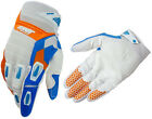2015 MENS SHOT FLEXOR MOTOCROSS MX GLOVES EDGE BLUE / ORANGE gants enduro bike