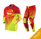 MSR Adults Axxis Jersey & Pant MX Motocross Enduro Off Road Kit Set - Clearance